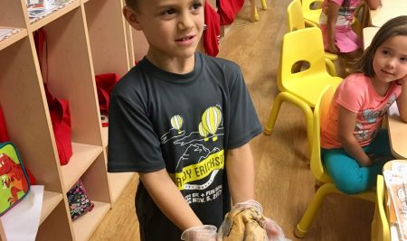 A.W. Spalding Elementary Youngest Students Hold Human Hearts