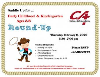Kindergarten & Preschool Round-Up